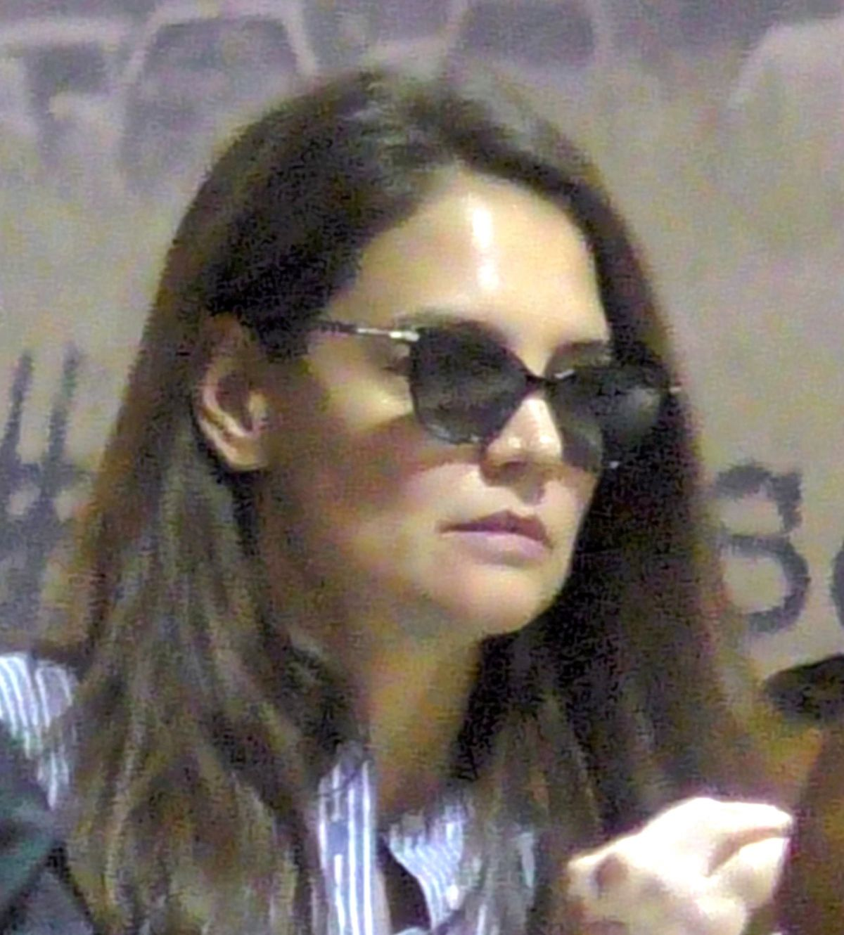 KATIE HOLMES at LAX Airport in Los Angeles 03/01/2017