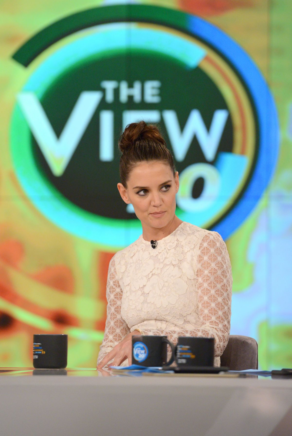 KATIE HOLMES at The View 03/29/2017