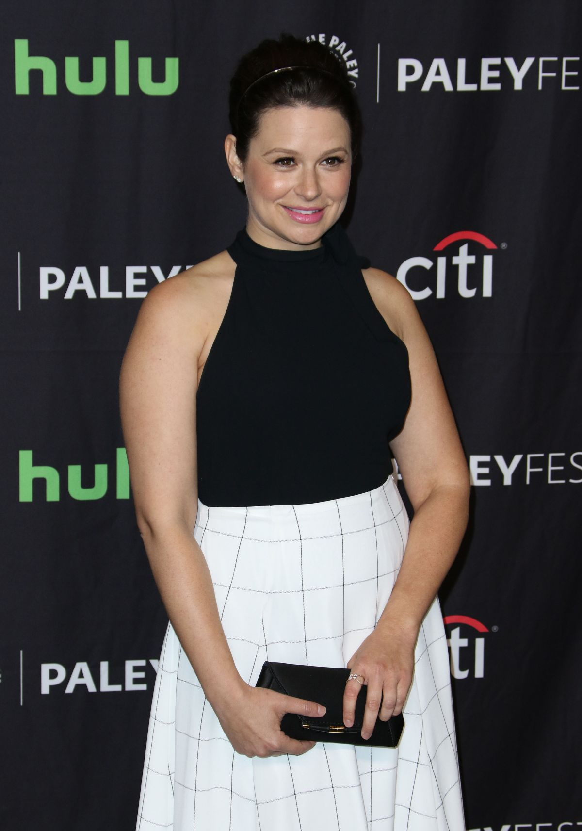 KATIE LOWES at Scandal Panel at Paleyfest in Los Angeles 03/26/2017