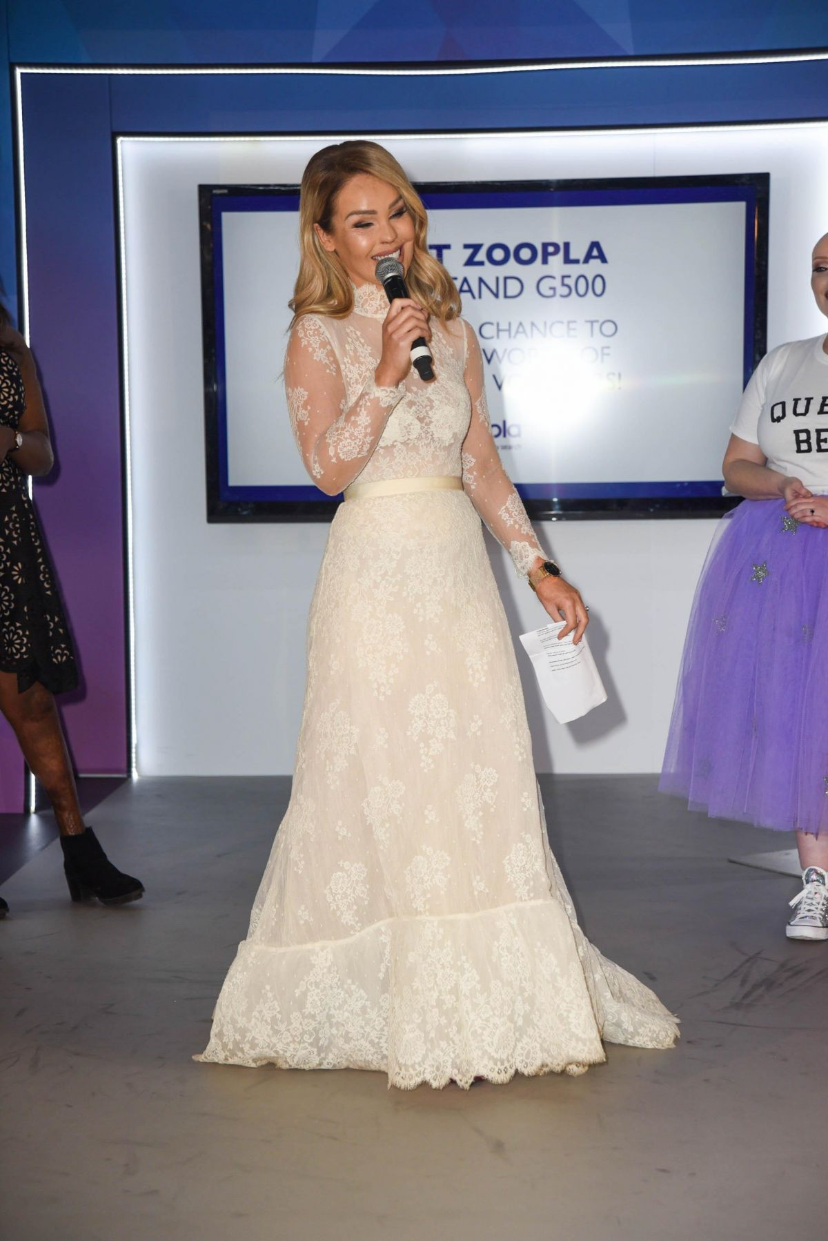 KATIE PIPER at Ideal Home Show Fashion Event in London 03/24/2017