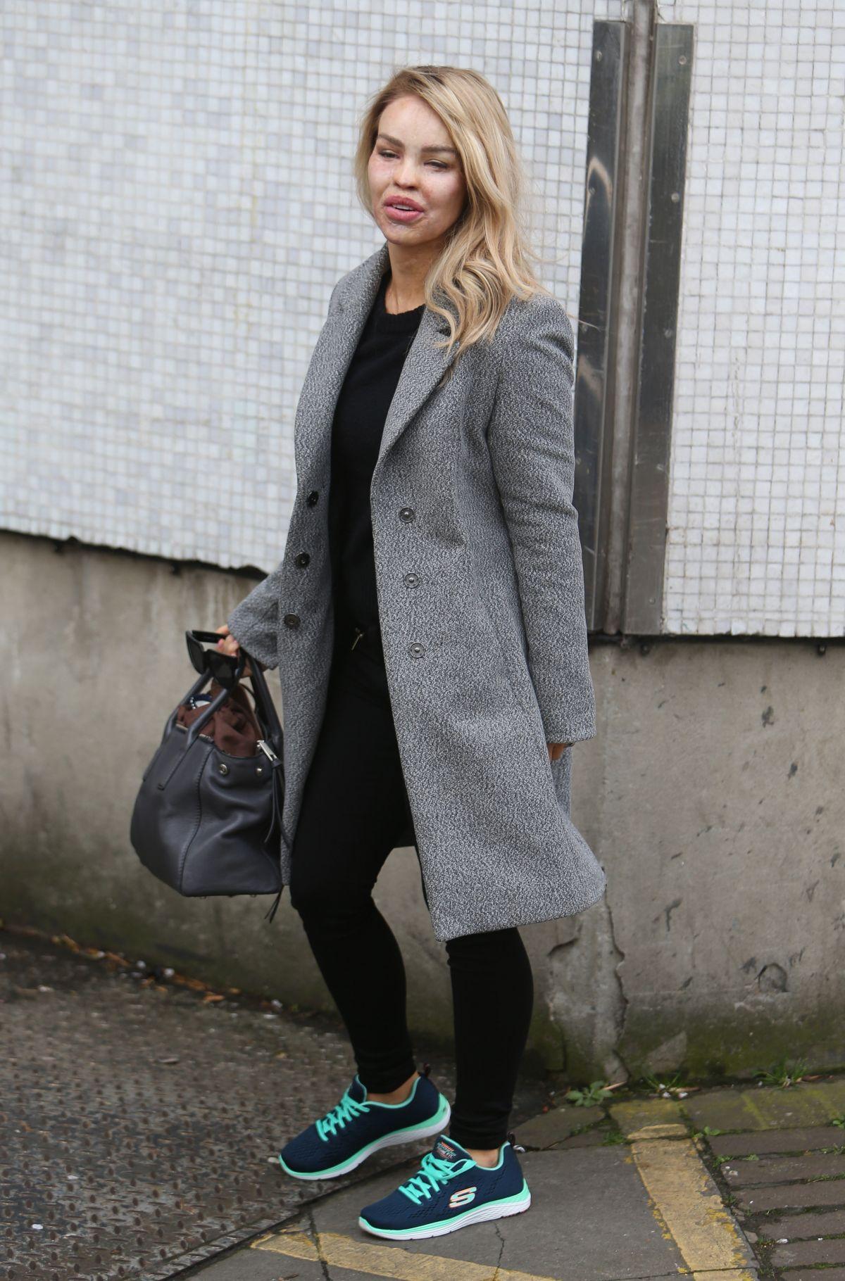KATIE PIPER at ITV Studios in London 03/23/2017