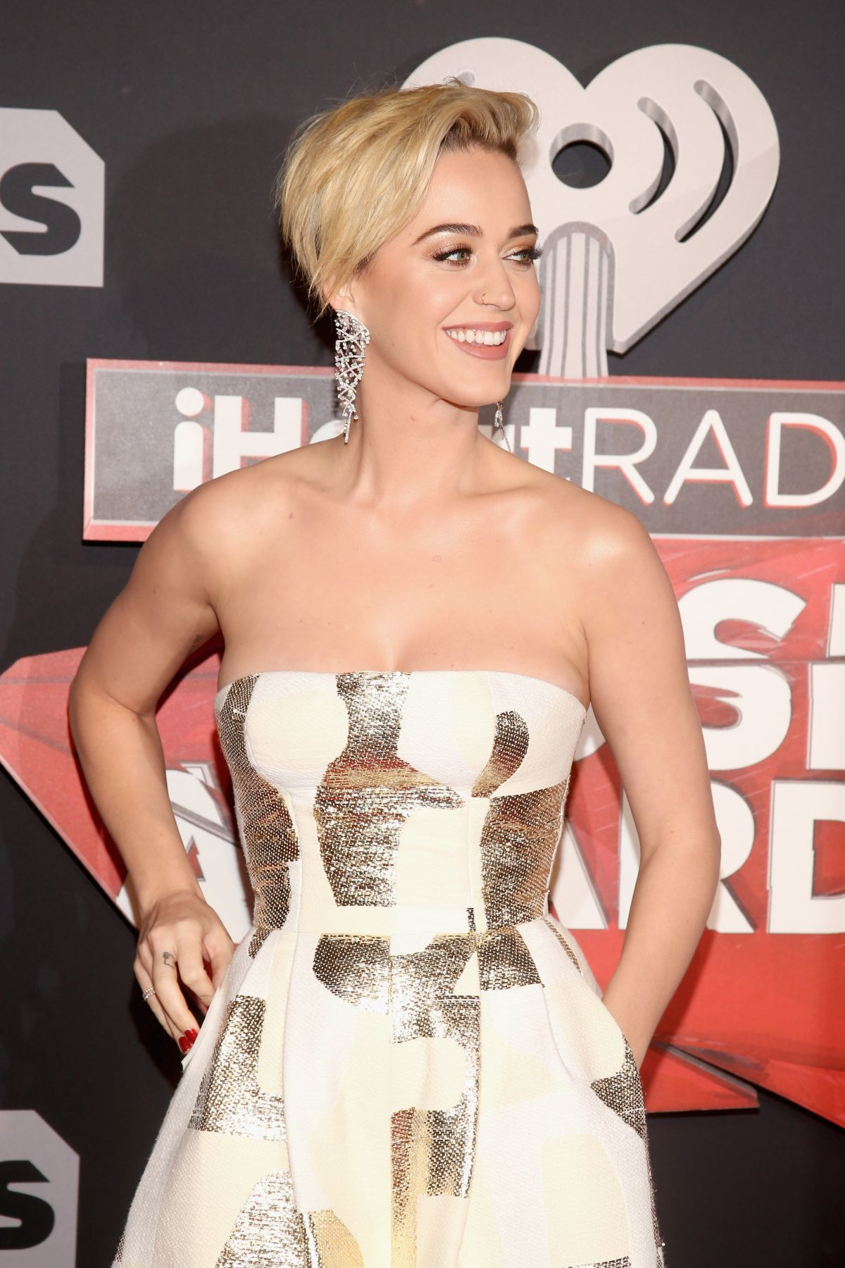 KATY PERRY at 2017 iHeartRadio Music Awards in Los Angeles 03/05/2017
