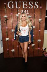 KAYLYN SLEVIN at Guess 1981 Fragrance Launch in Los Angeles 03/21/2017