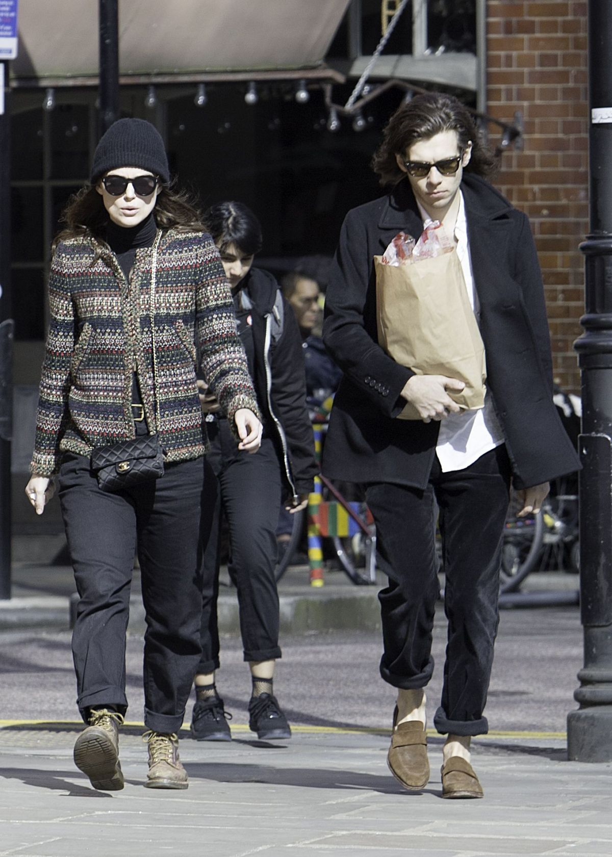 KEIRA KNIGHTLEY and James Righton Out in London 03/25/2017