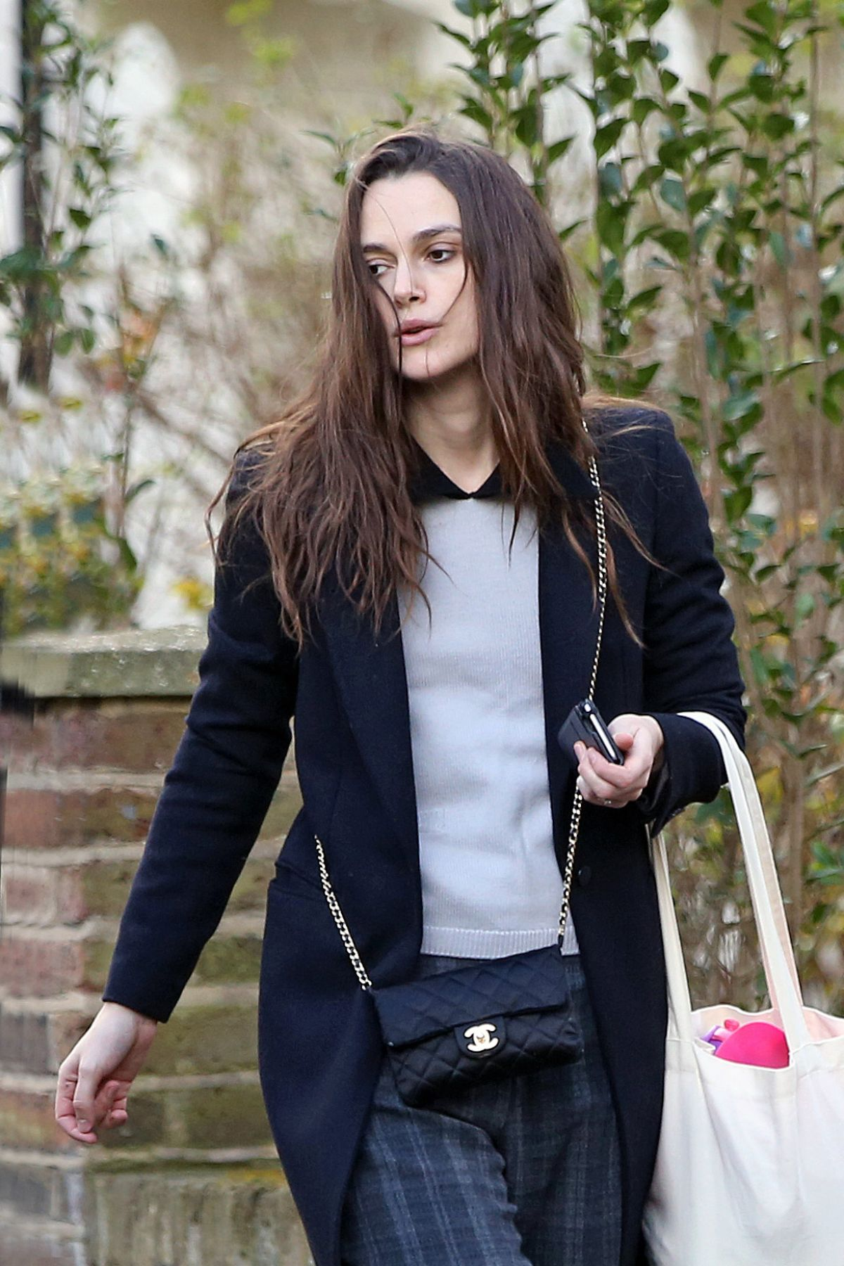 KEIRA KNIGHTLEY Out and About in London 03/06/2017 ... Keira Knightley