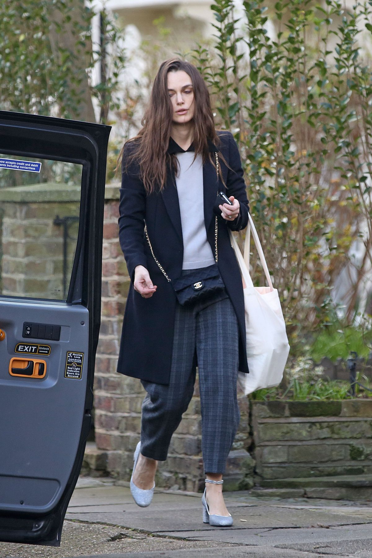 KEIRA KNIGHTLEY Out and About in London 03/06/2017 ...
