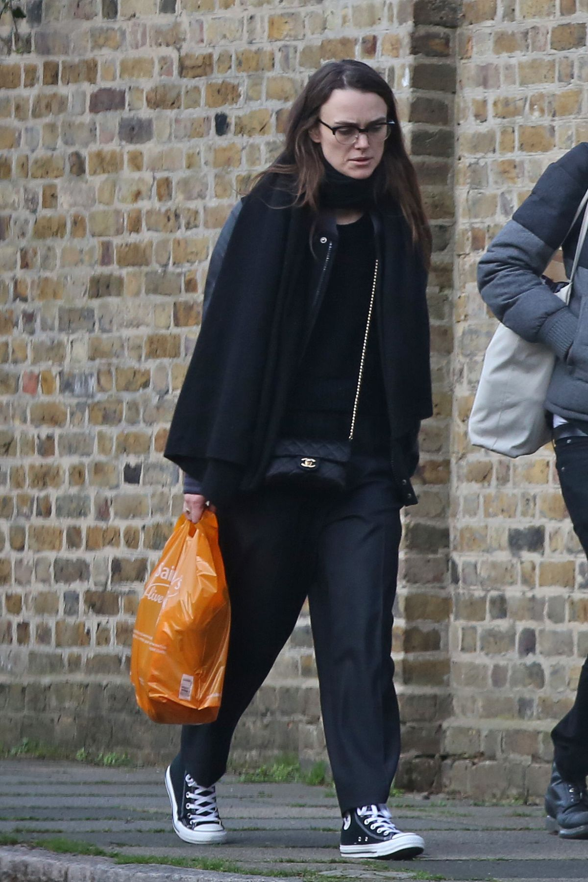 KEIRA KNIGHTLEY Out for Groceries Shopping in London 03/25/2017