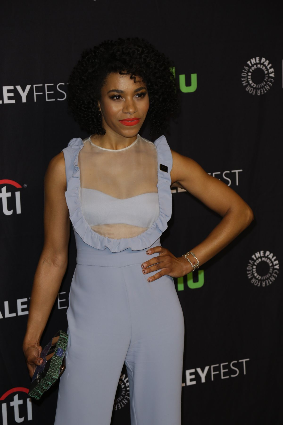 KELLY MCCREARY at 34th Annual PaleyFest in Los Angeles 03/19/2017