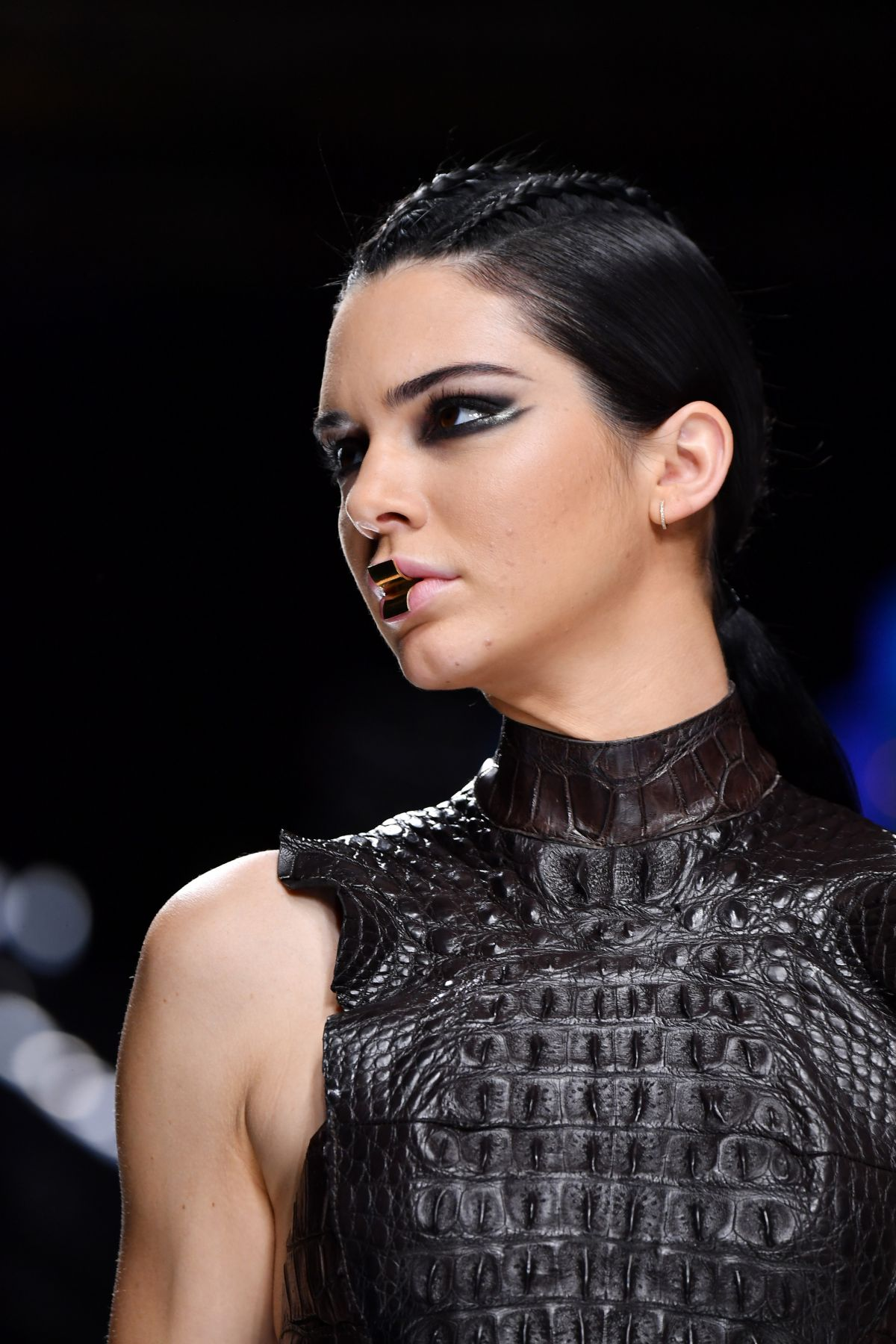 Kendall Jenner At Balmain Fashion Show At Paris Fashion Week 03 02