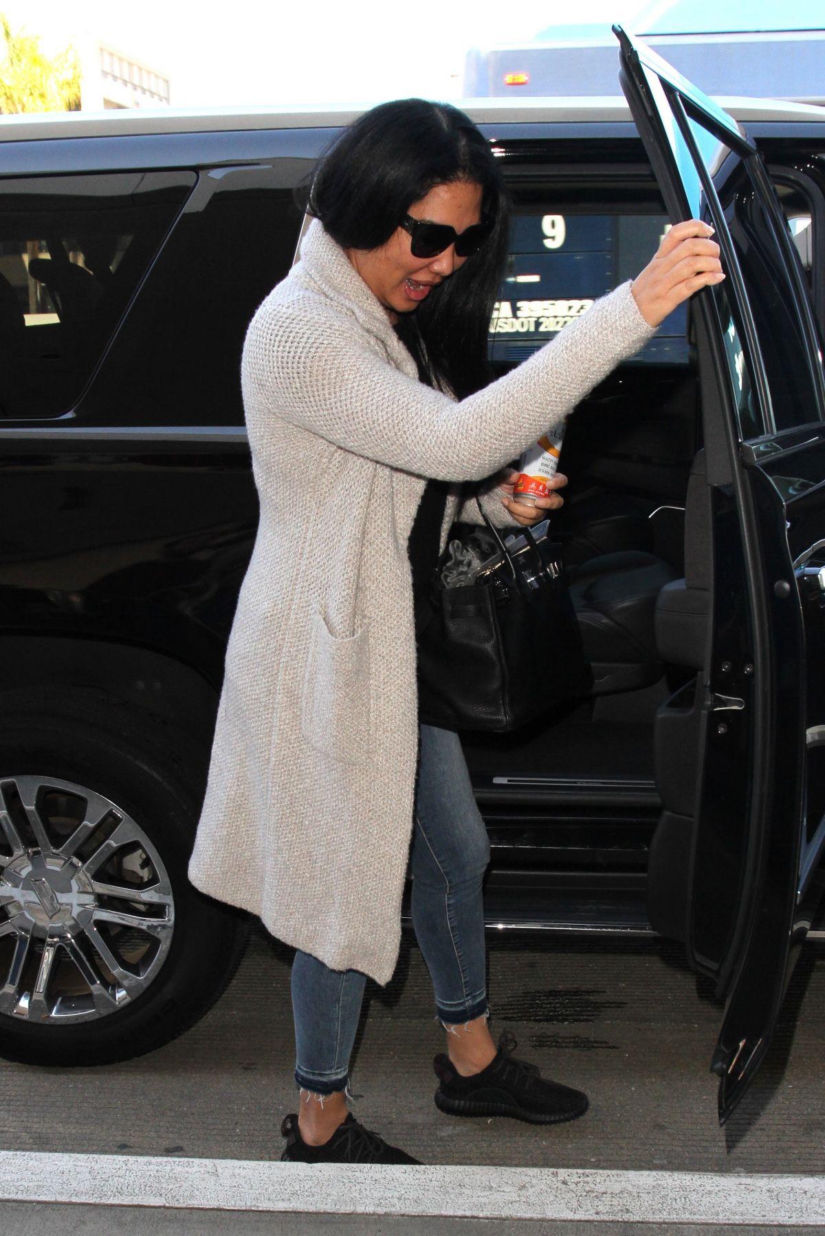 KIMORA LEE SIMMONS at LAX Airport in Los Angeles 03/09/2017