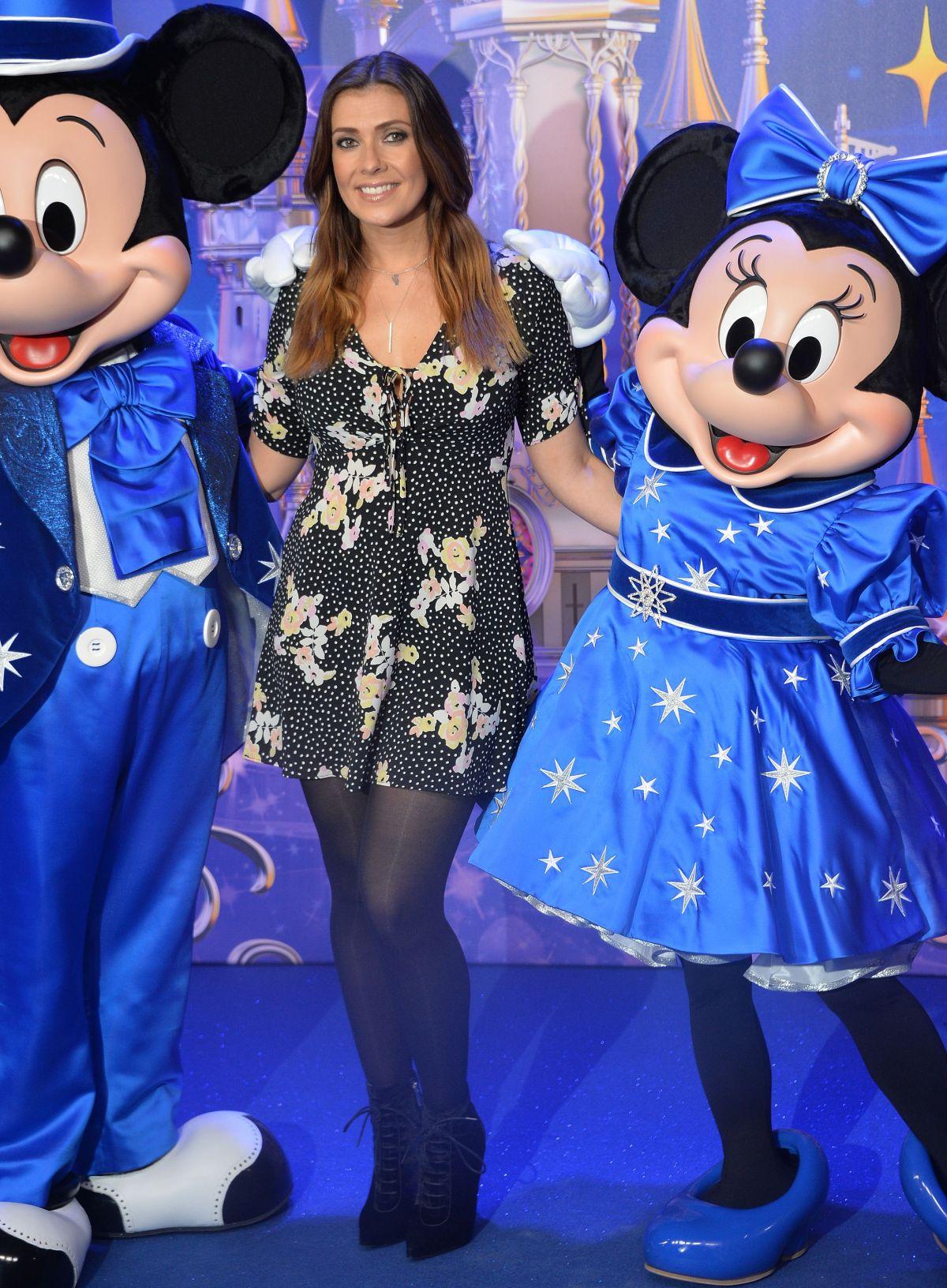 KYM MARSH at Disneyland Paris 25th Anniversary Celebration 03/25/2017
