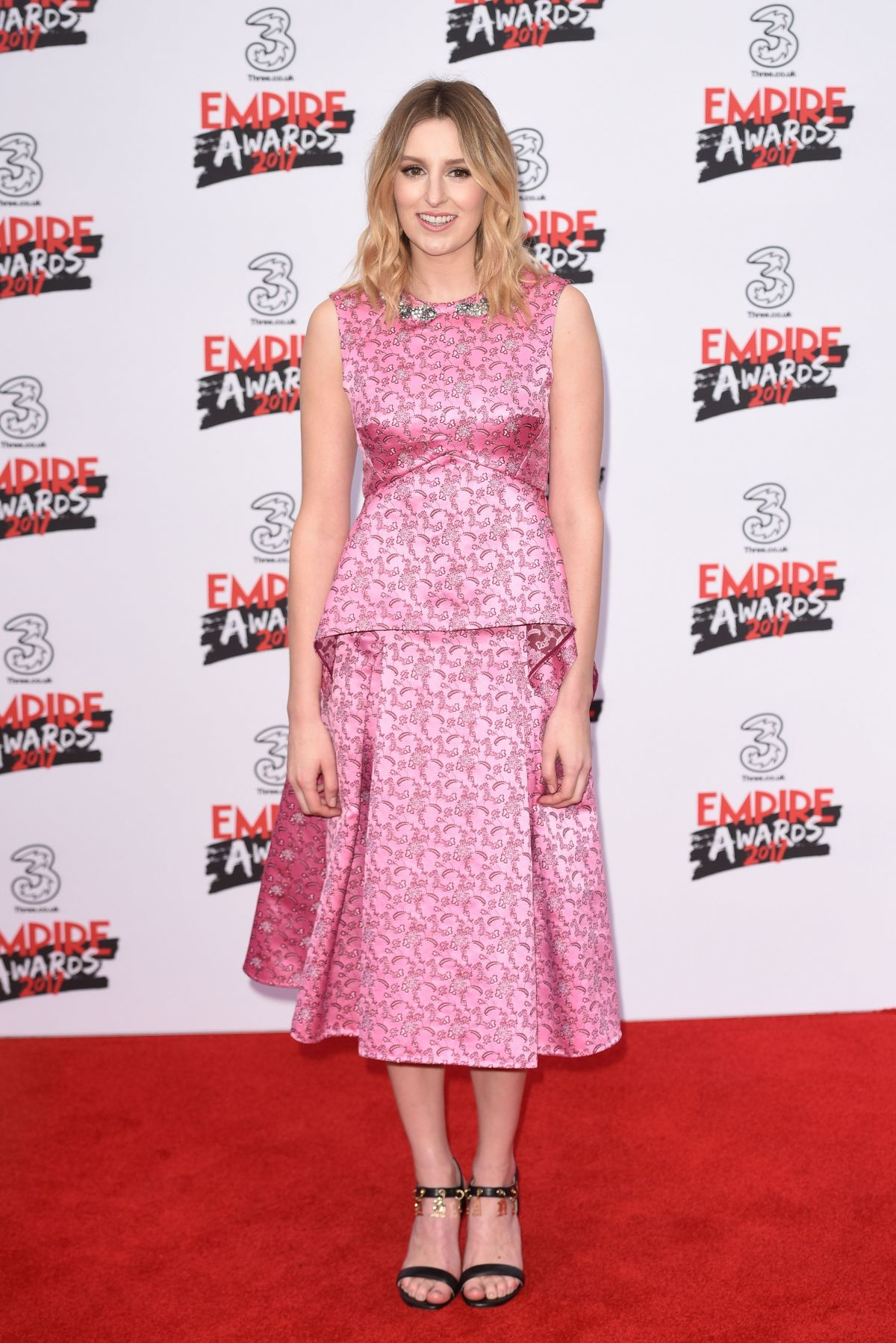 LAURA CARMICHAEL at Three Empire Awards in London 03/19/2017