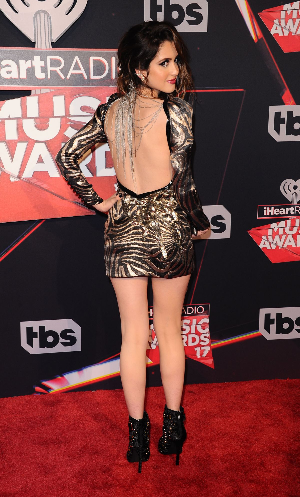 LAURA MARANO at 2017 iHeartRadio Music Awards in Los ...