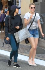LILI REINHART and CAMILA MENDES Shopping at The Grove in Los Angeles 03/25/2017