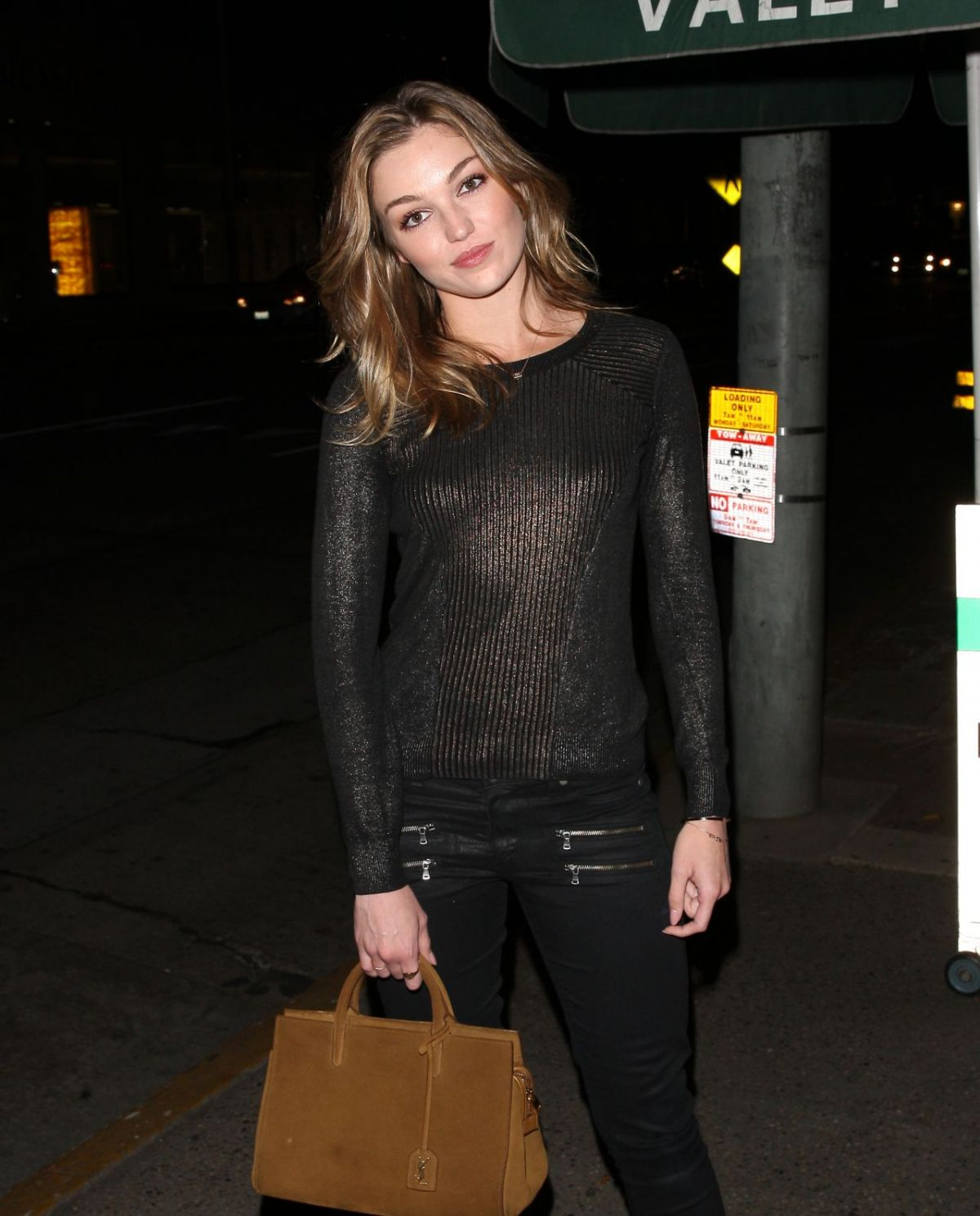 LILI SIMMONS at Madeo Restaurant in West Hollywood 03/09/2017