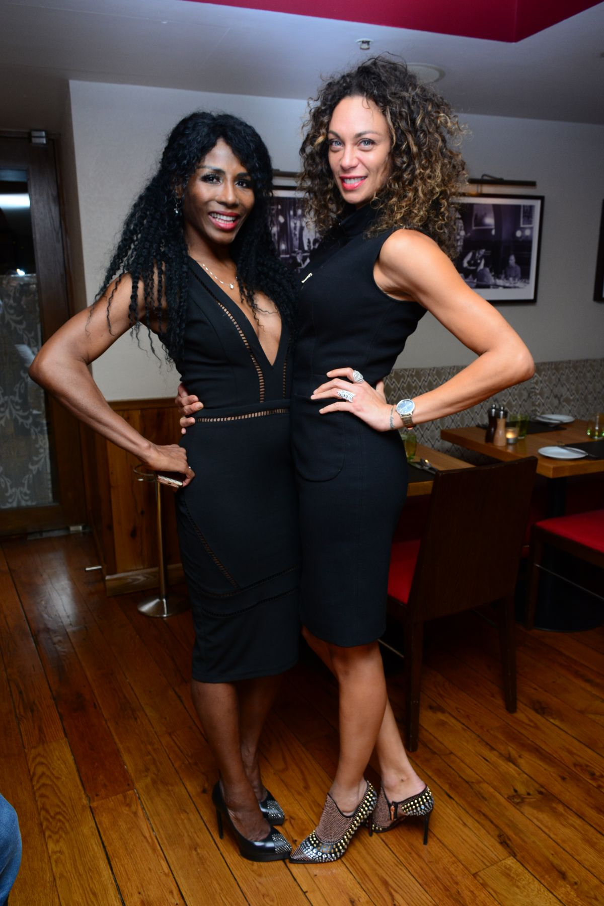 LILLY BECKER and SINITTA at Beth Jones Intimate VIP Dinner in London 02/28/2017