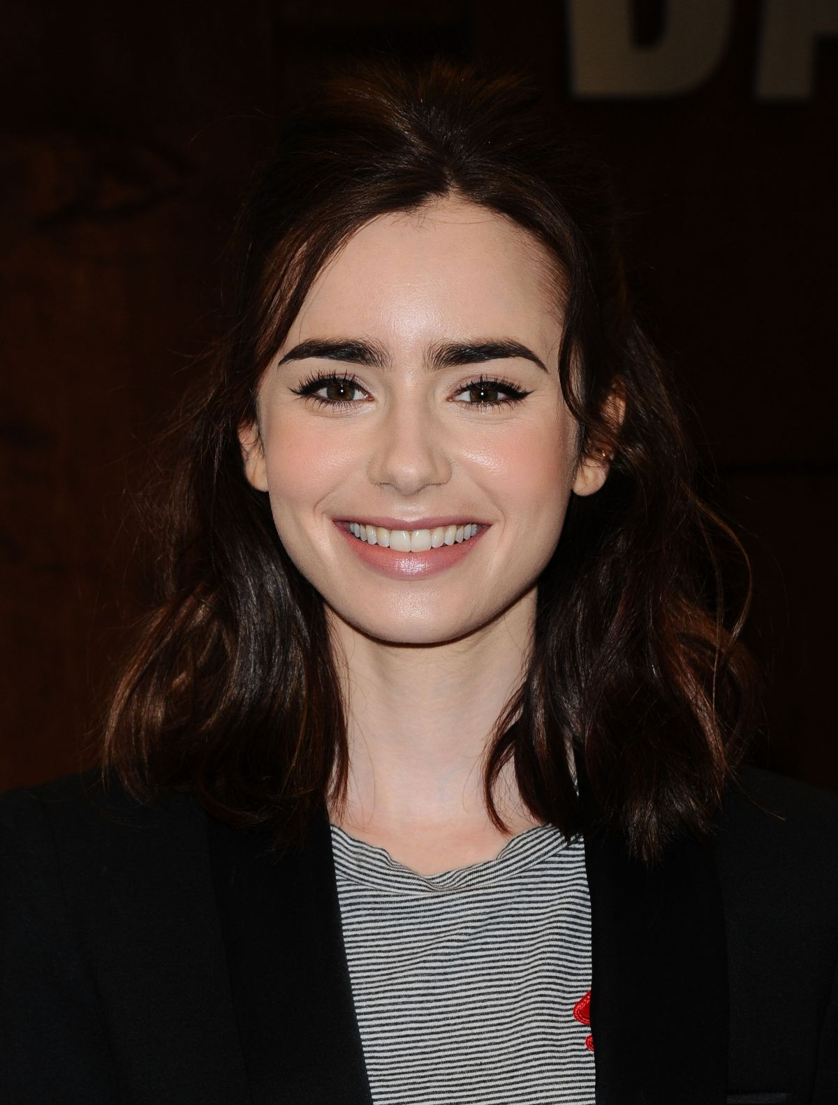LILY COLLINS at Unfilt...