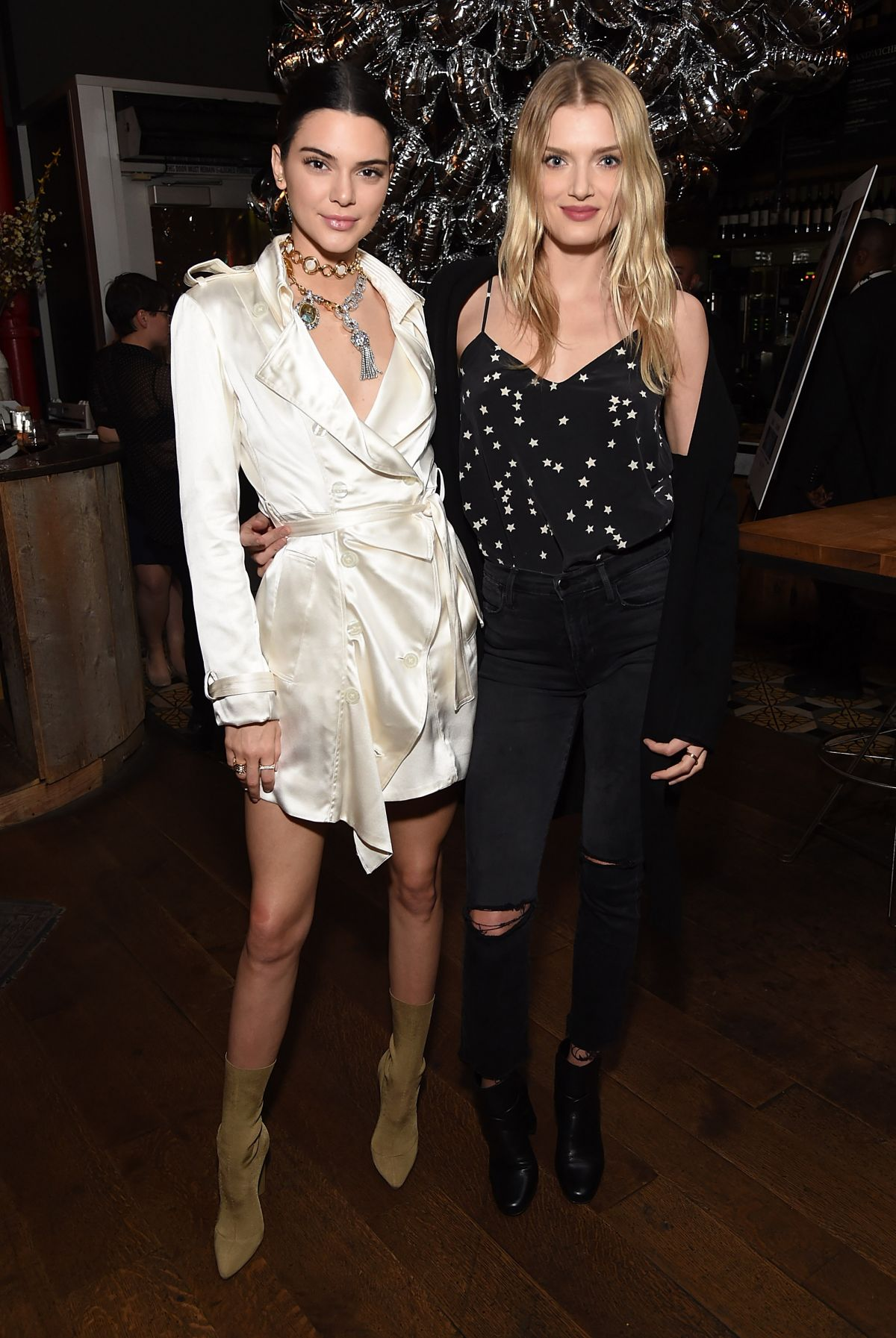 LILY DONALDSON and KENDALL JENNER at Valerian and the City of a Thousand Planets Premiere in Los Angeles 03/27/2017
