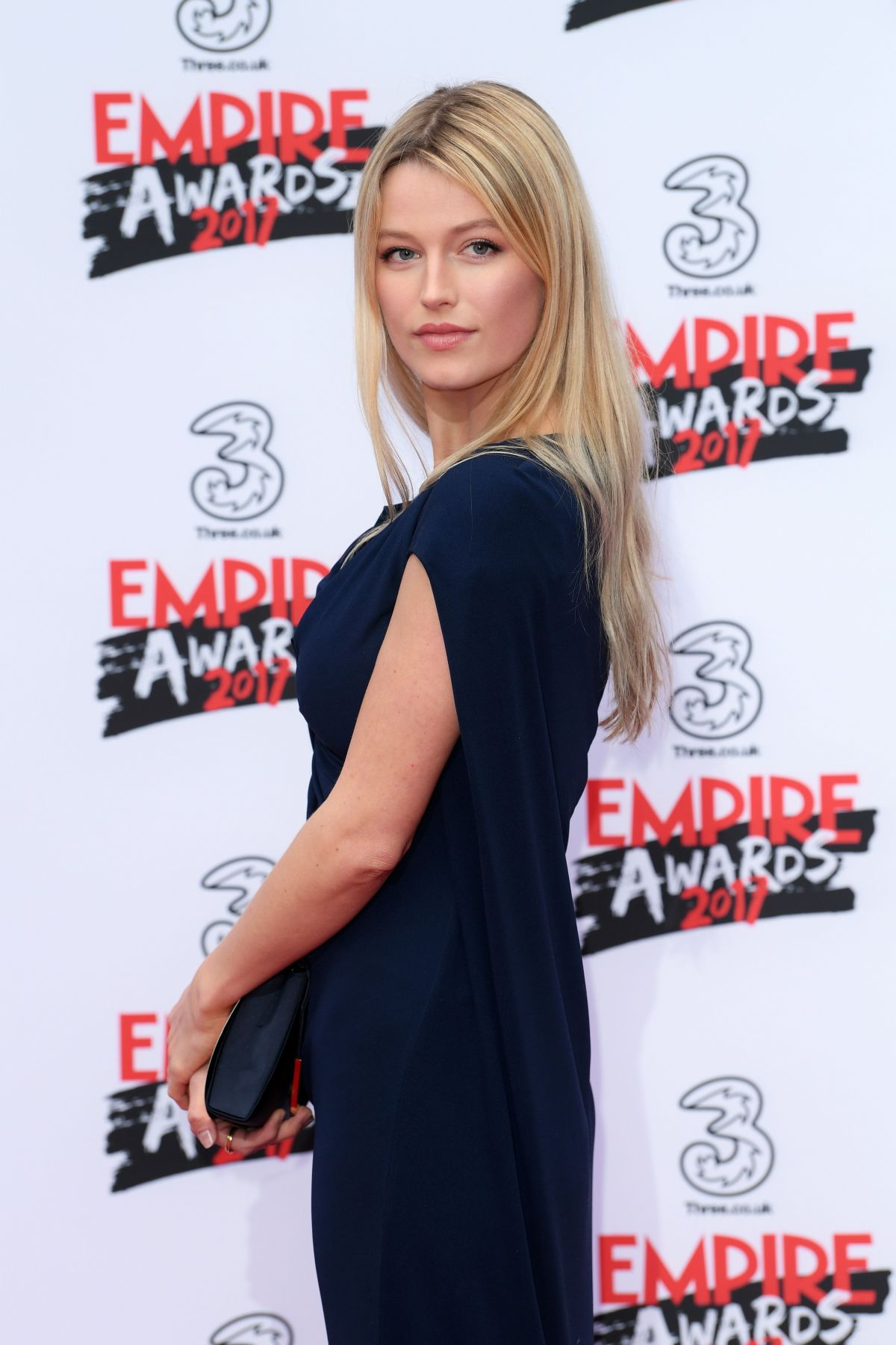 LILY TRAVERS at Three Empire Awards in London 03/19/2017