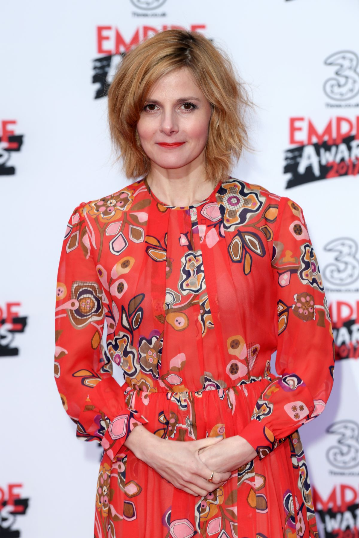 LOUISE BREALEY at Three Empire Awards in London 03/19/2017