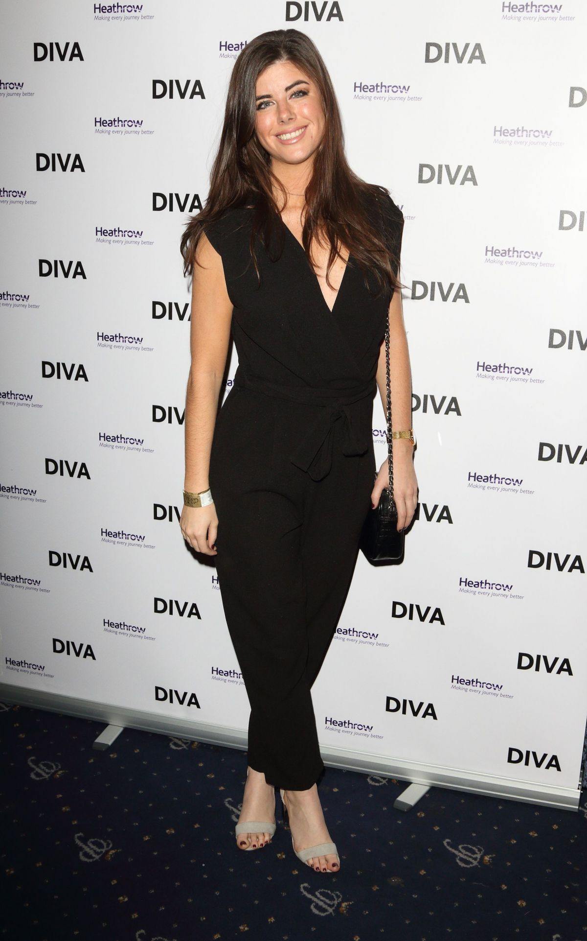 LOUISE MICHELLE at Diva Magazine Awards in London 03/23/2017