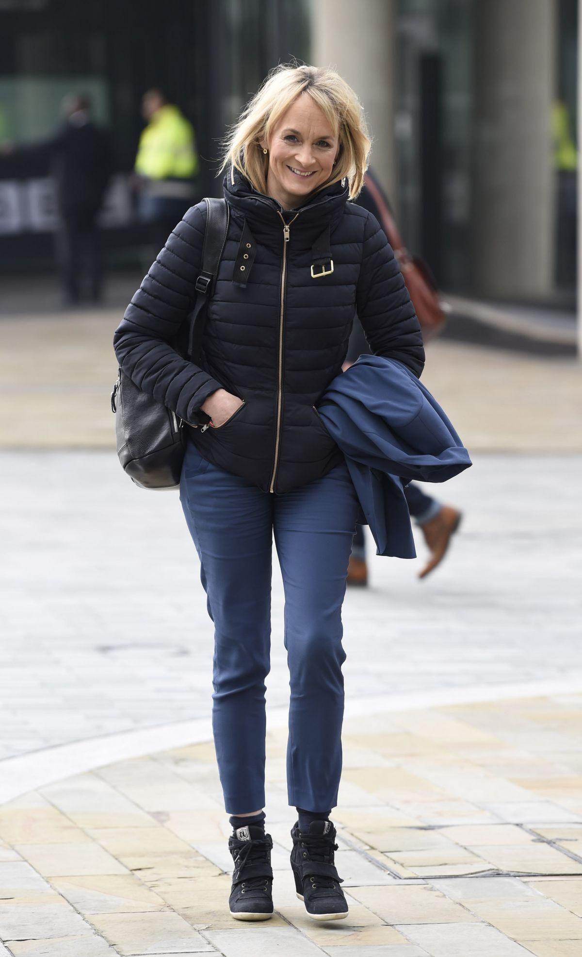 LOUISE MINCHIN Leaves BBC Studio in London 03/07/2017 – HawtCelebs