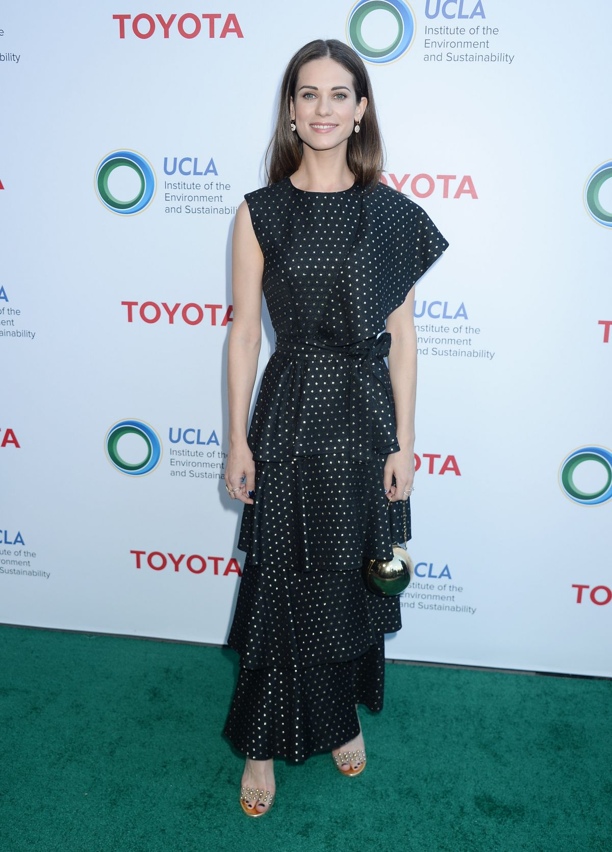 LYNDSY FONSECA at UCLA Celebrates Innovators for a Healthy Planet 03/13/2017