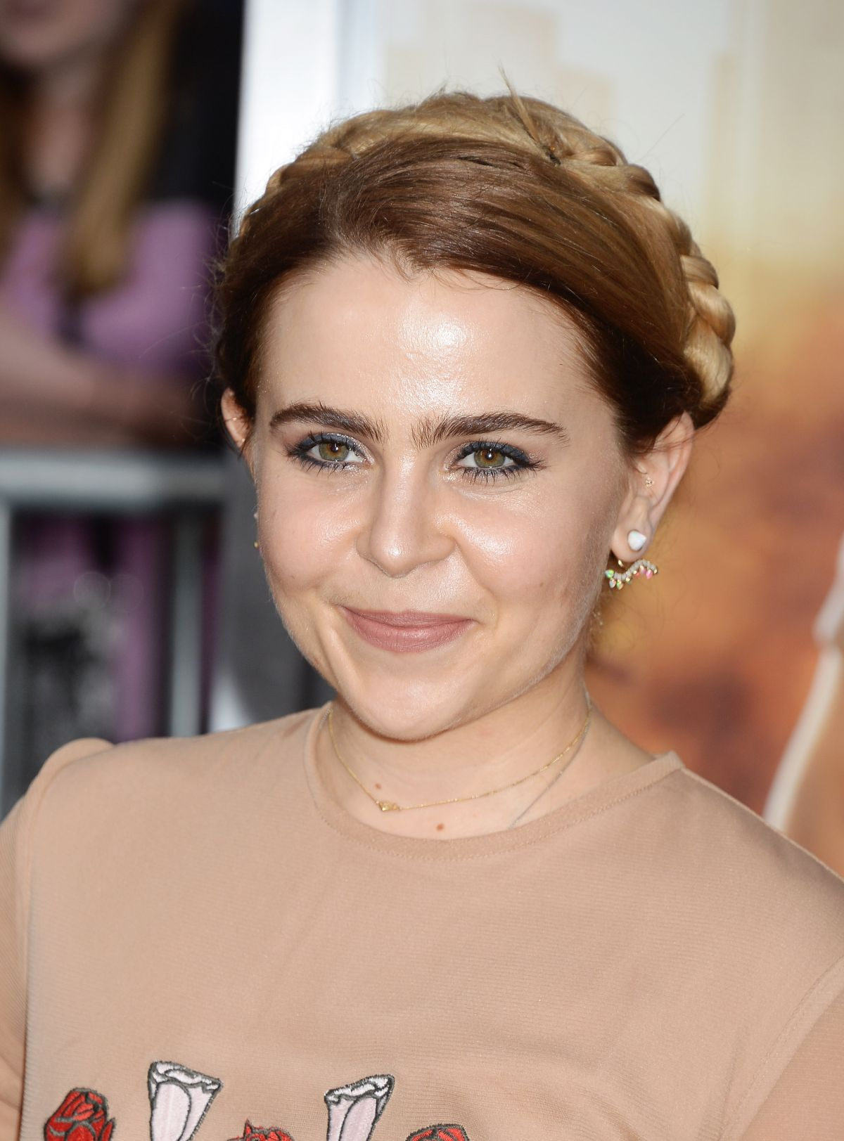 MAE WHITMAN at Chips Premiere in Los Angeles 03/20/2017