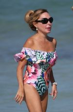 MARYSOL PATTON in Swimsuit on the Beach in Miami 03/12/2017
