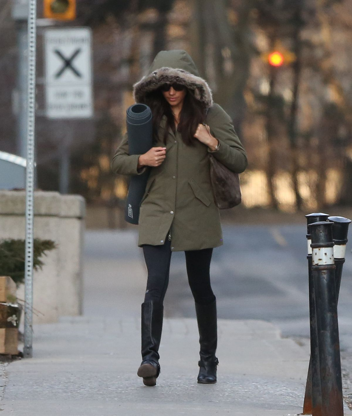 MEGHAN MARKLE Out And About In Toronto 03/11/2017