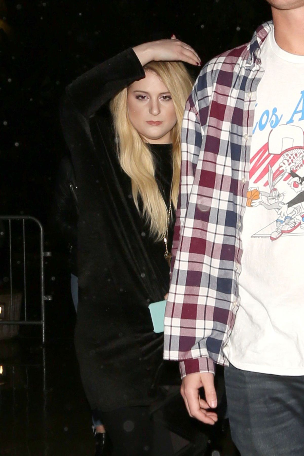 MEGHAN TRAINOR Arrives at Staples Center in Los Angeles 03/21/2017