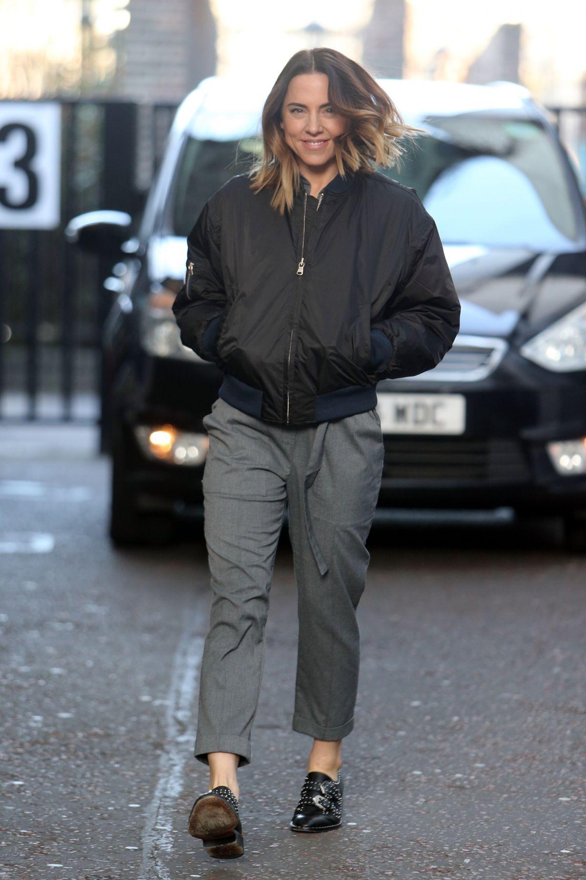 MELANIE CHISHOLM Leaves ITV Studios in London 03/06/2017