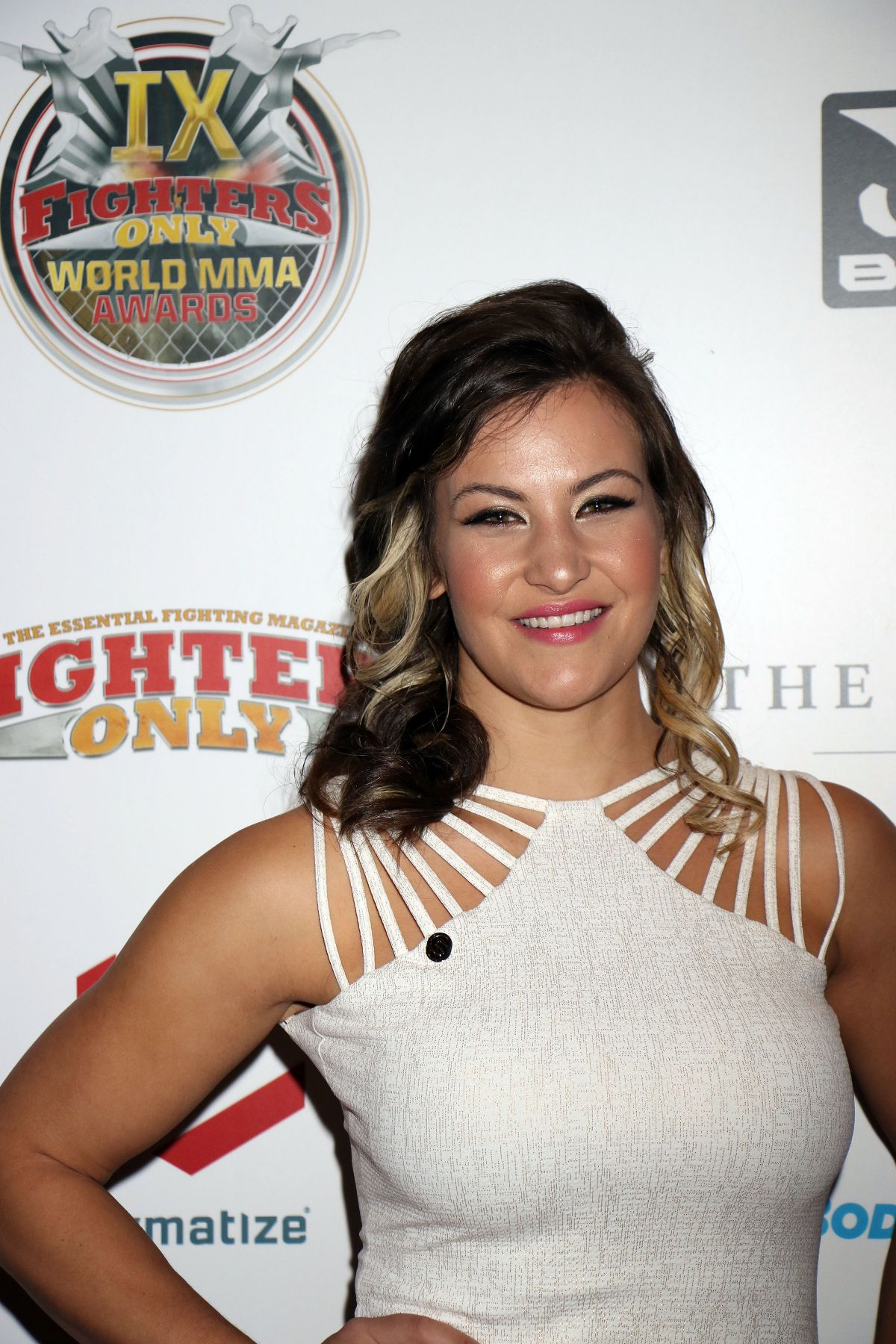 MIESHA TATE at 9th Annual Fighters Only World Mixed Martial Arts Awards in Las Vegas 03/02/2017