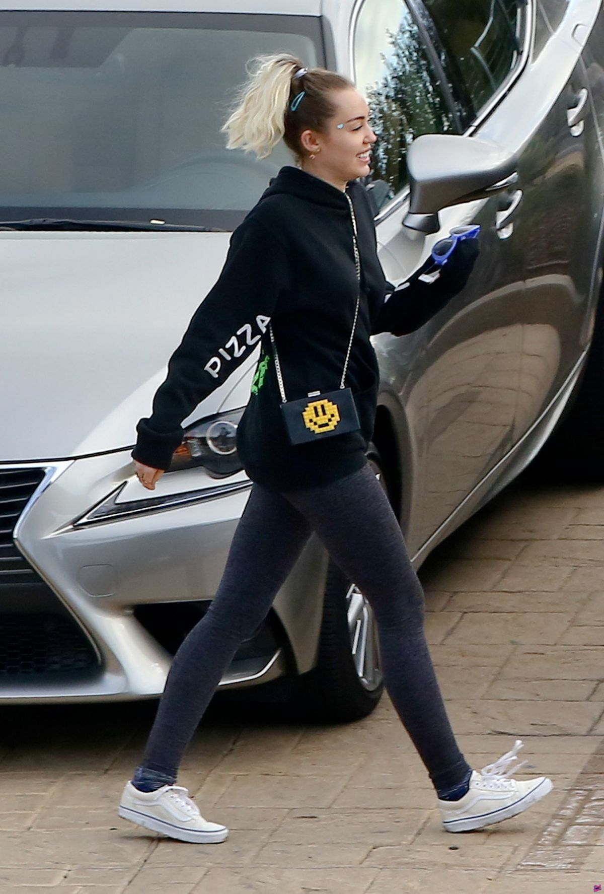 MILEY CYRUS Out for Lunch in Malibu 02/26/2017 ...