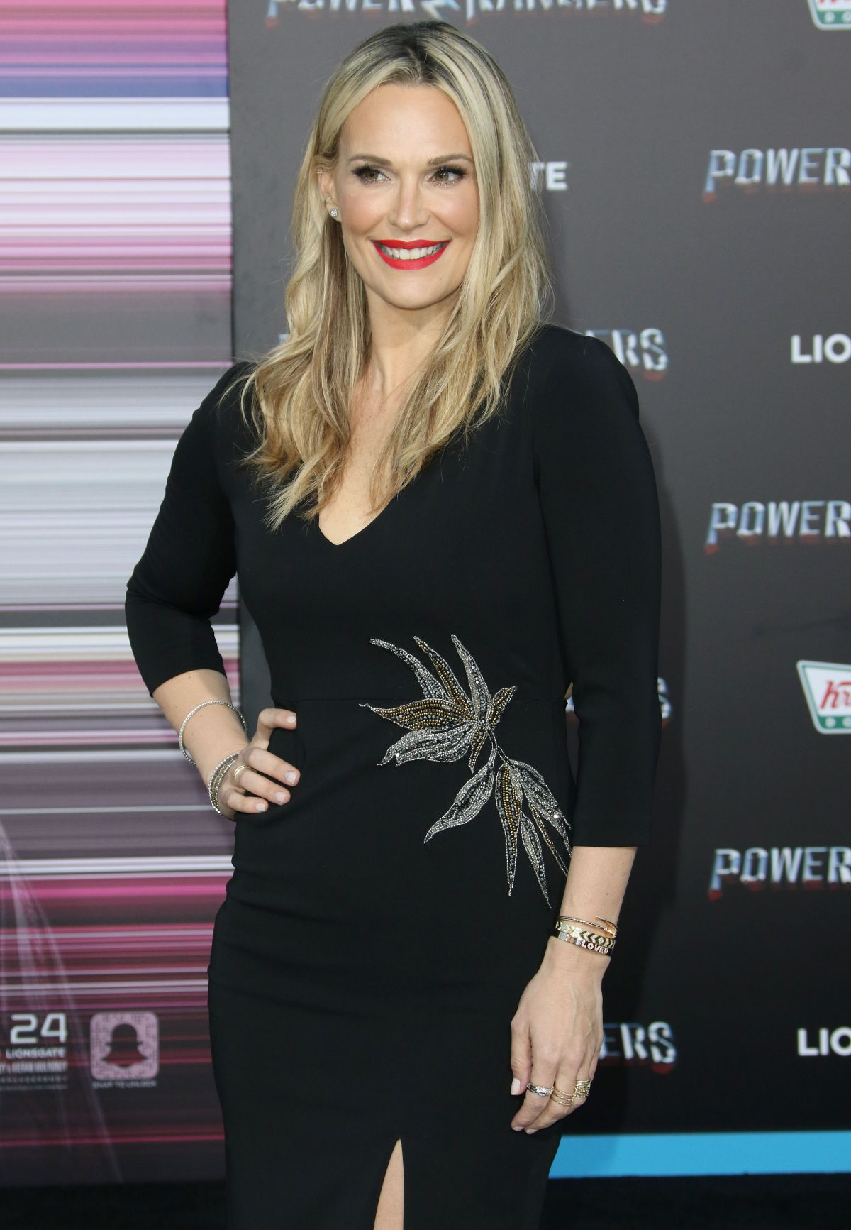 MOLLY SIMS at Power Rangers Premiere in Los Angeles 03/22/2017