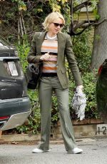 NAOMI WATTS Out and About in Brentwood 03/01/2017