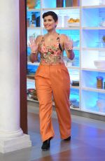 NELLY FURTADO at The Chew 03/28/2017