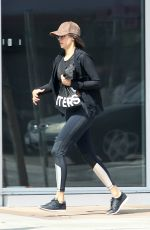NINA DOBREV Leaves a Gym in Hollywood 03/18/2017