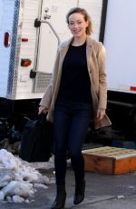OLIVIA WILDE on the Set of Life Itself in New York 03/20/2017