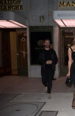 pamela anderson and tony gomez leaves manko restaurant in. Black Bedroom Furniture Sets. Home Design Ideas