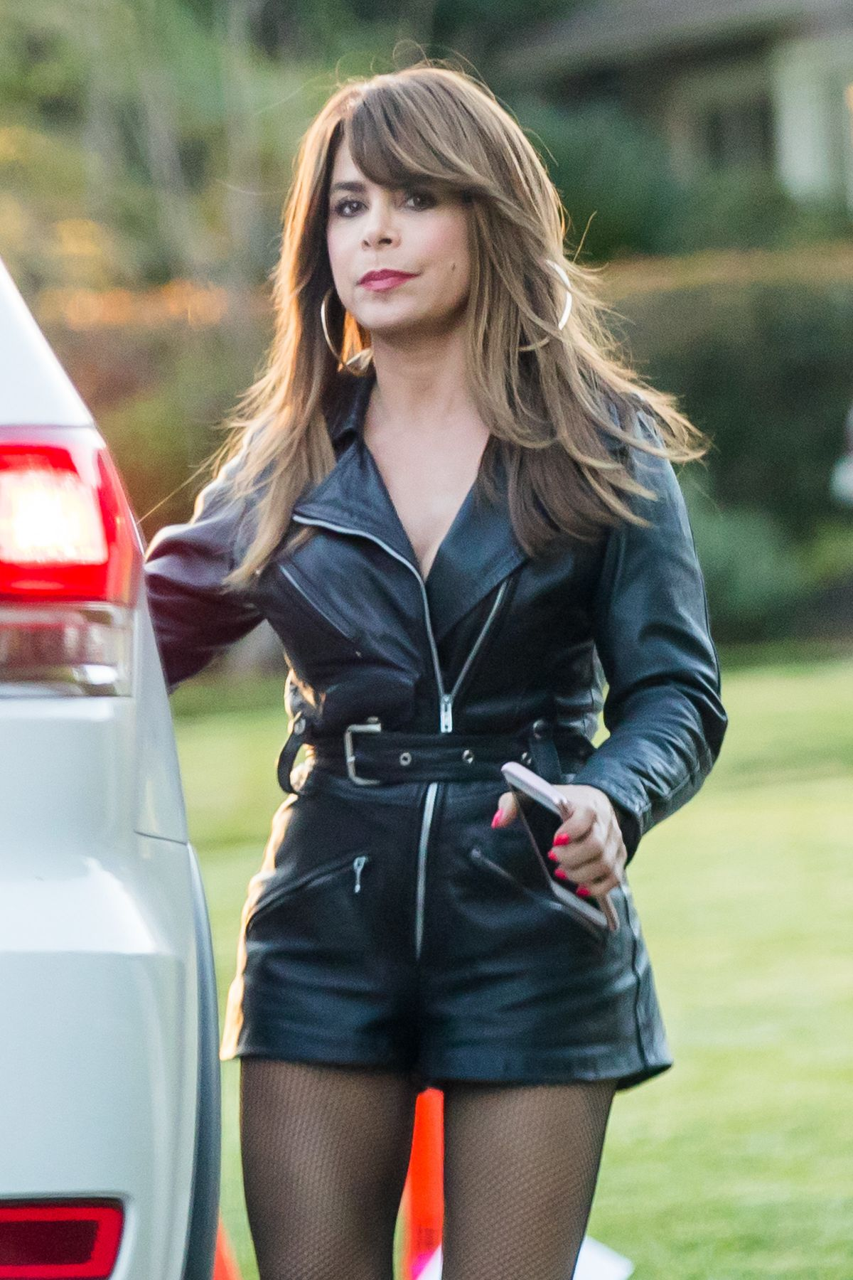 PAULA ABDUL on the Set of Untitled Kourtney Kang Project in Los Angeles 03/07/2017