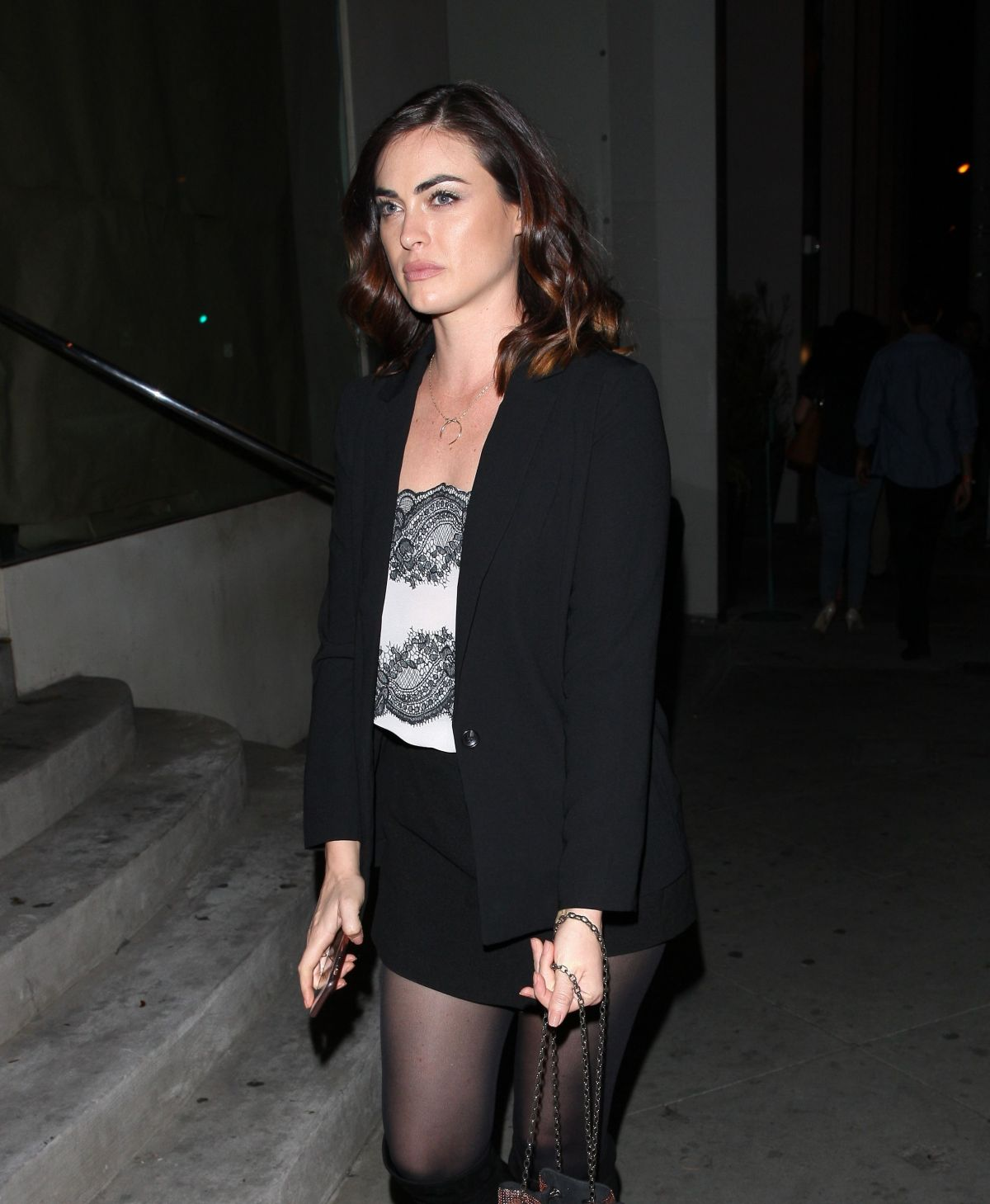PHOEBE TONKIN At Catch LA In West Hollyeood 03/10/2017