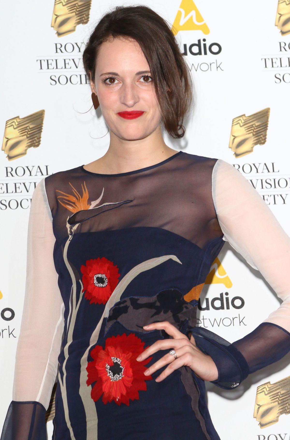 PHOEBE WALLER-BRIDGE at Royal Television Society Programme Awards in London 03/21/2107