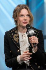 REBECCA FERGUSON at AOL Build Speaker Series in New York 03/20/2017