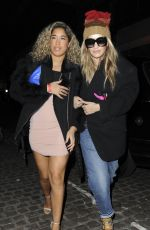 RITA ORA Arrives at Chiltern Firehouse in London 03/04/2017