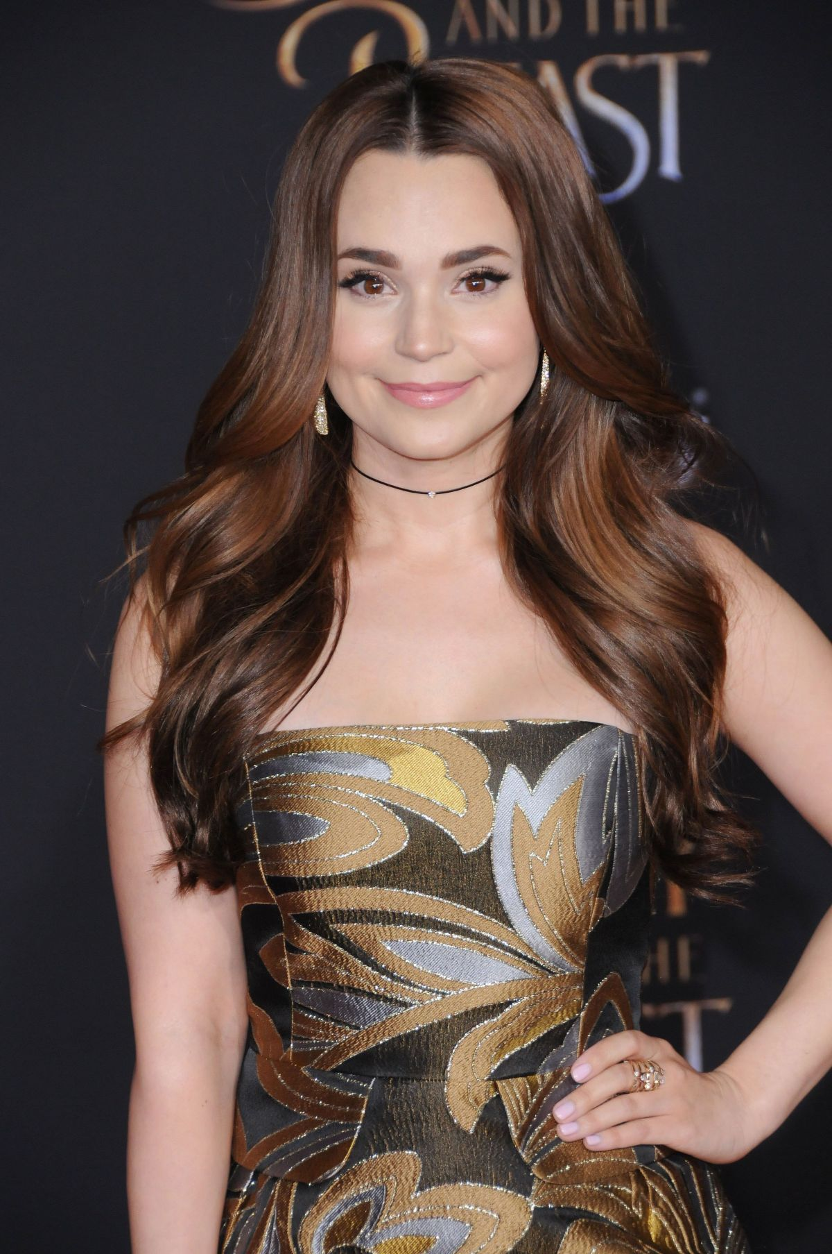 ROSANNA PANSINO at Beauty and the Beast Premiere in Los Angeles 03/02/2017