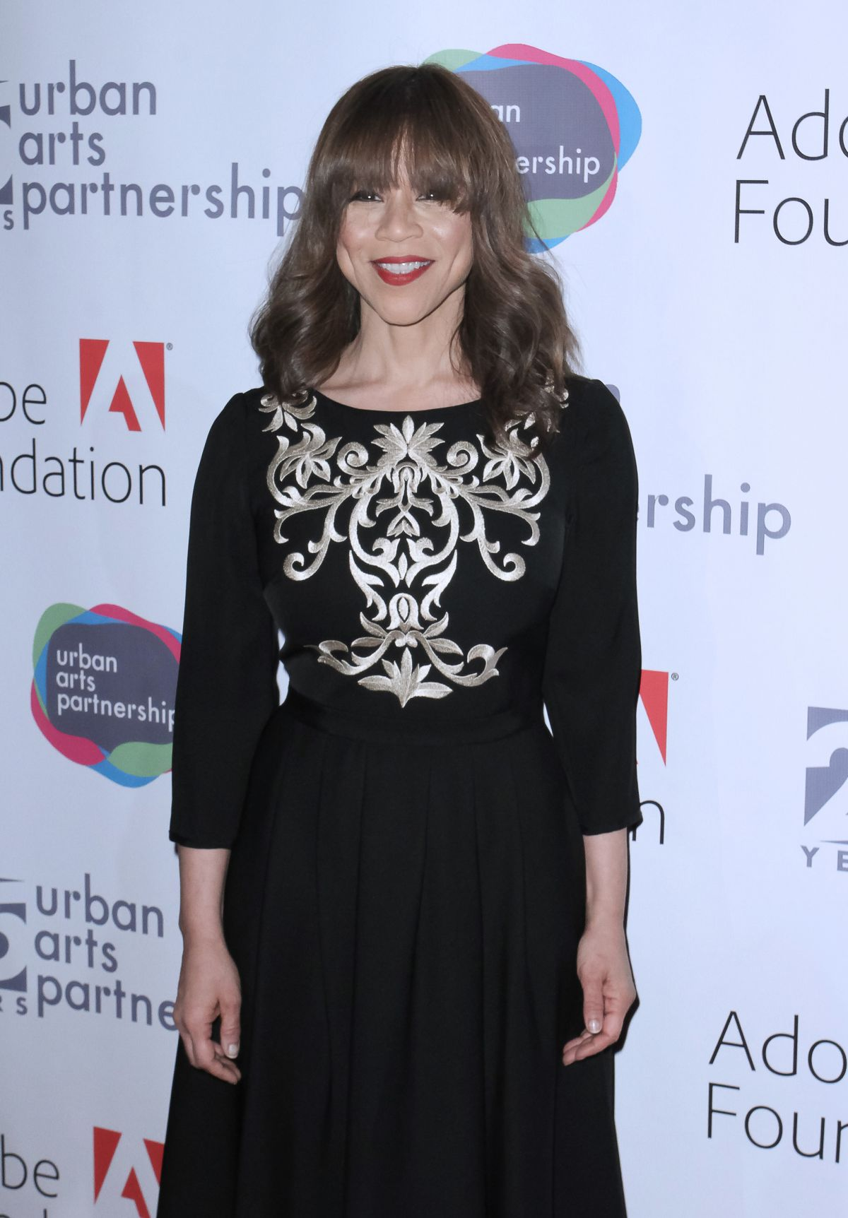 ROSIE PEREZ at Urban Arts Partnership 25th Anniversary Benefit in New York 03/15/2017