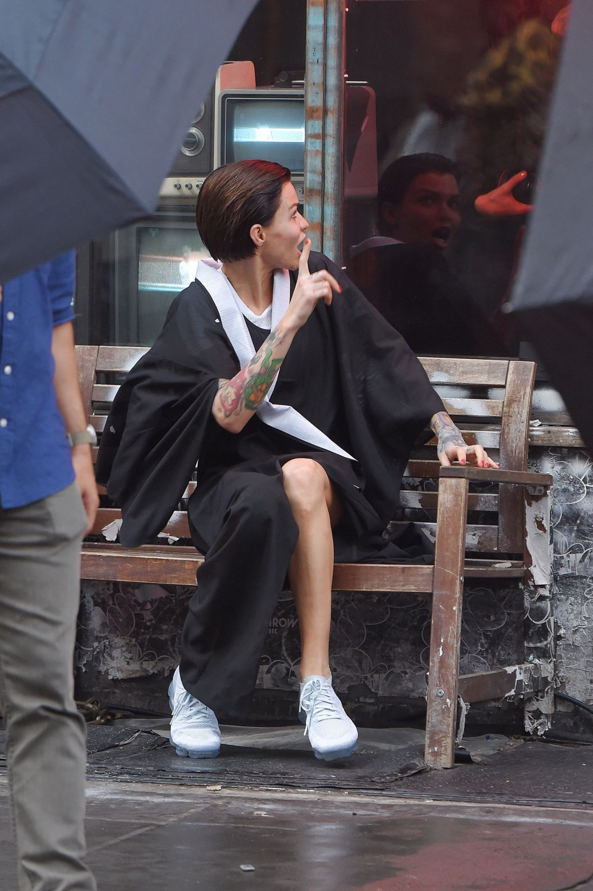 Ruby Rose On The Set Of A Photoshoot In New York 03 01