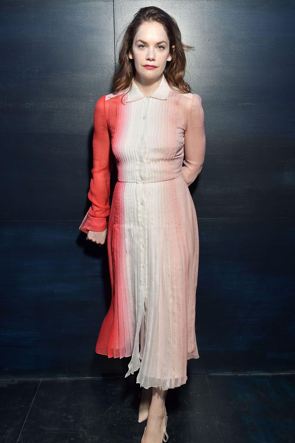 RUTH WILSON at Christian Dior Fashion Show in Paris 03/03/2017