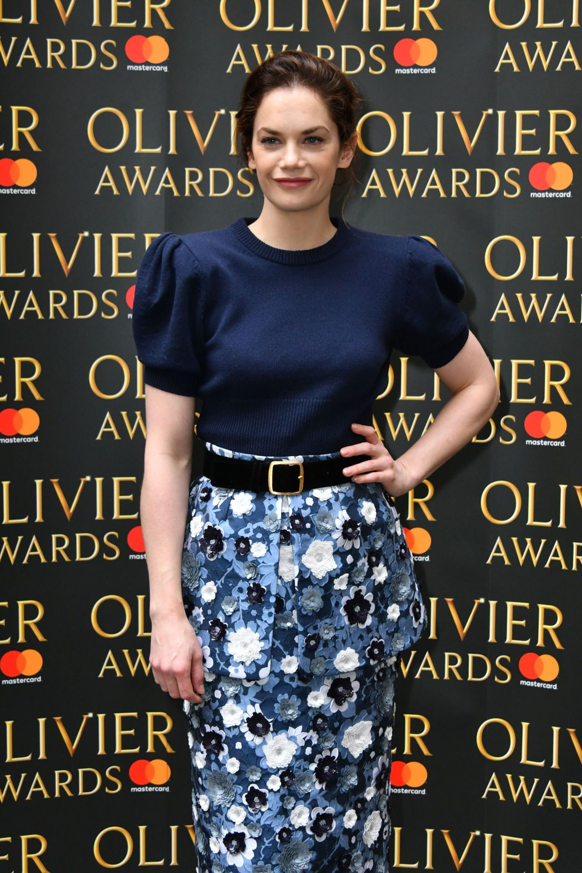 RUTH WILSON at Olivier Awards Nominees Luncheon in London 03/10/2017